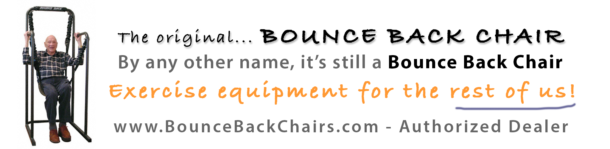 Bounce Back Chairs banner